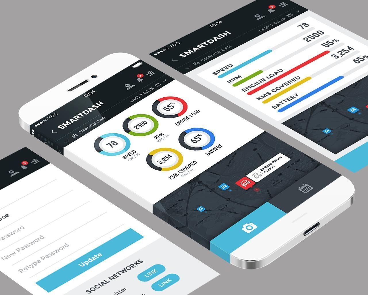 Android Mobile App Ui Psd