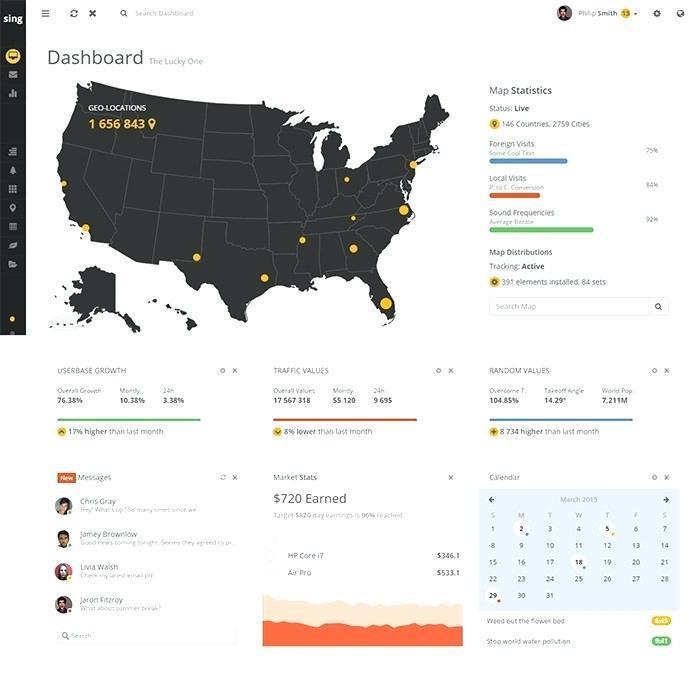 Angularjs Portfolio Template