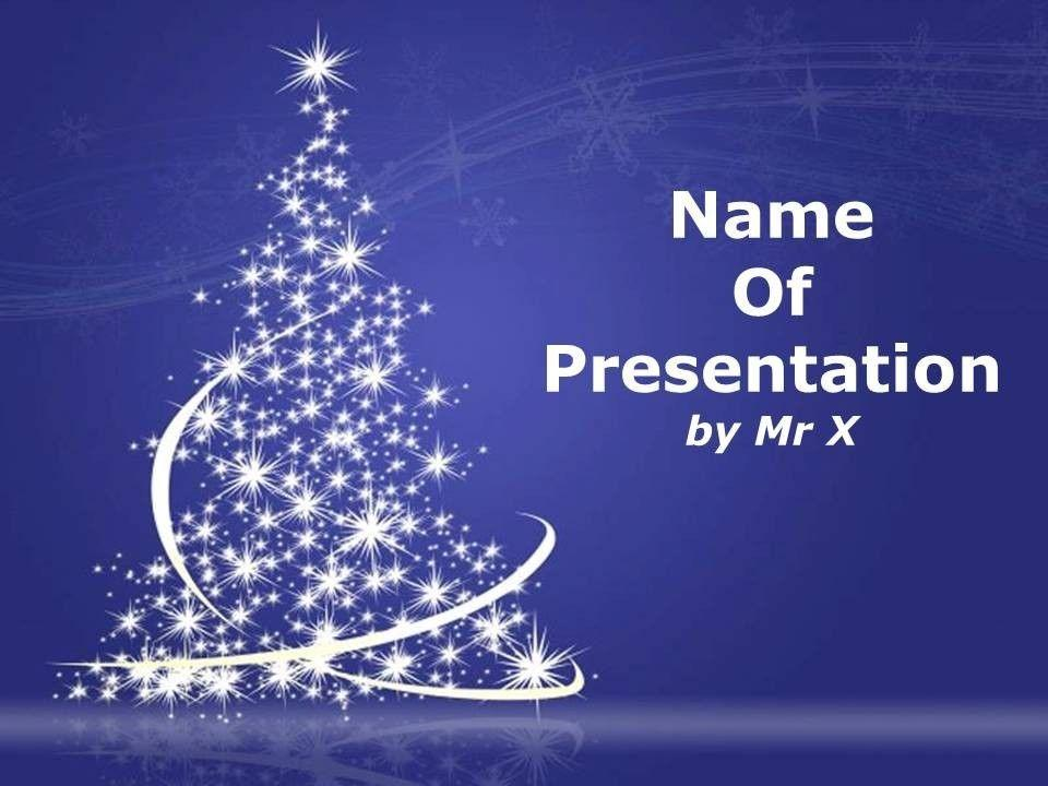 Animated Powerpoint Templates Christmas Free