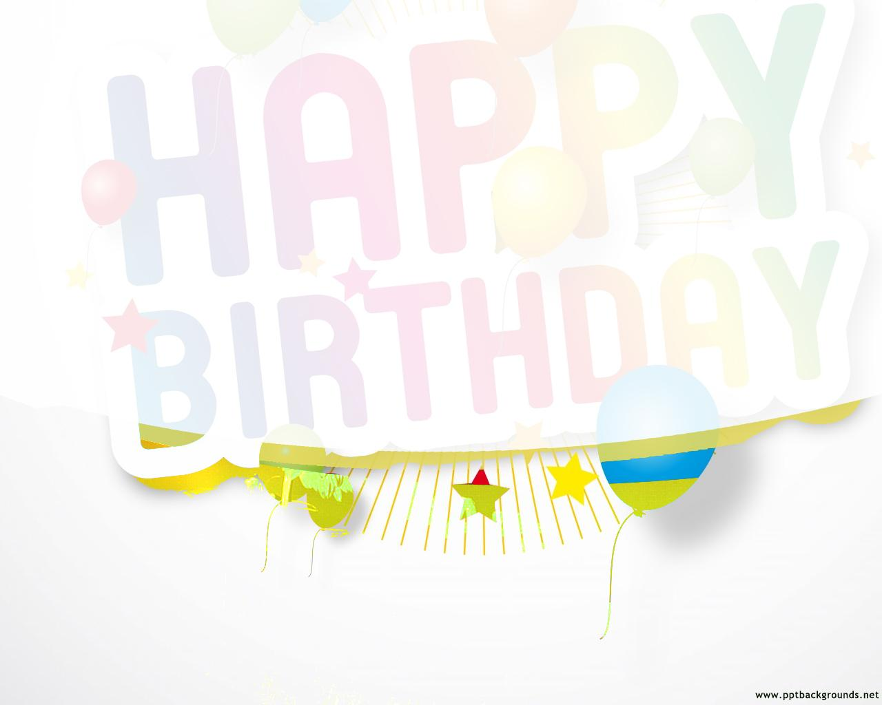 Animated Powerpoint Templates For Birthday