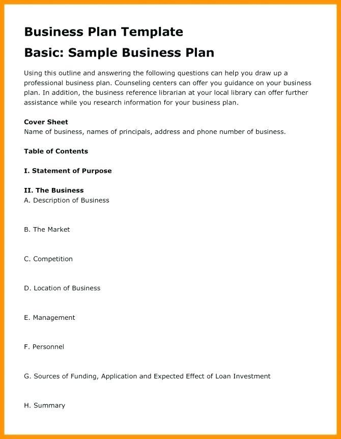 Annual Investment Plan Template