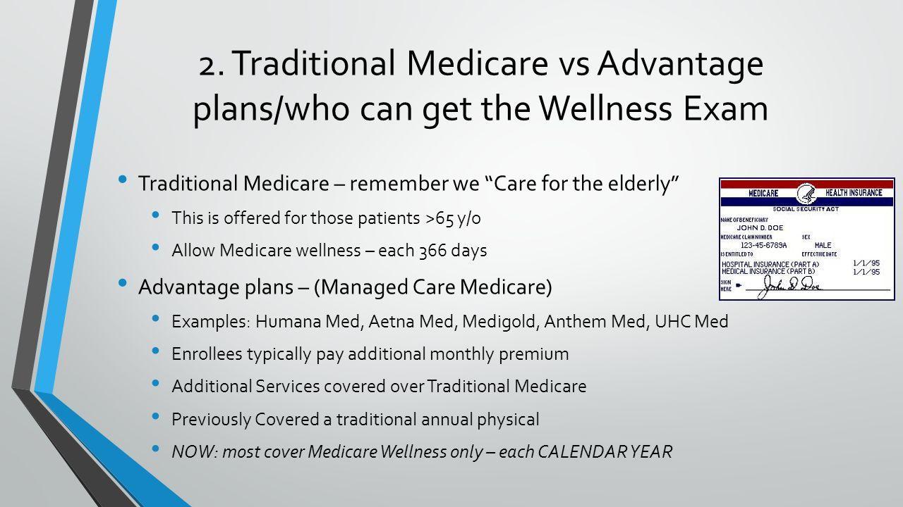 Annual Wellness Exam Documentation Requirements