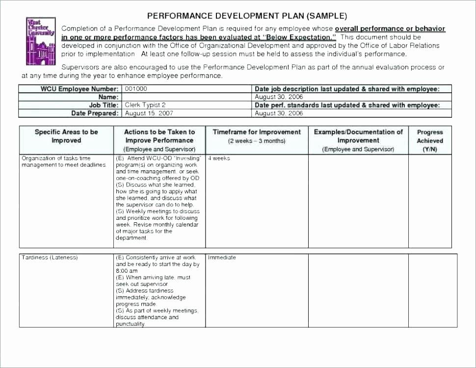 Annual Work Plan Template Word