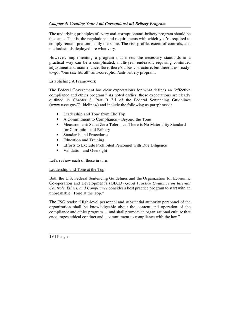 Anti Bribery And Corruption Policy Template Singapore