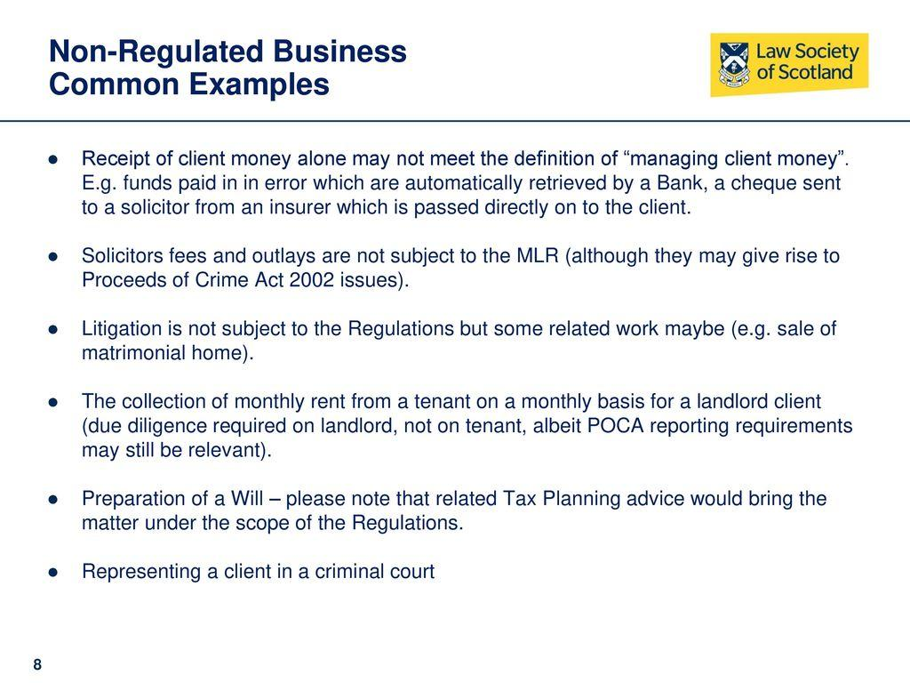 Anti Money Laundering Policy Template Solicitors
