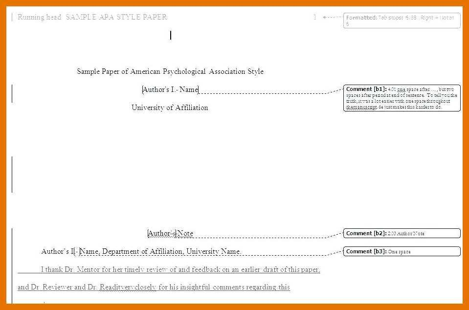 Apa 6th Edition Template For Word 2010