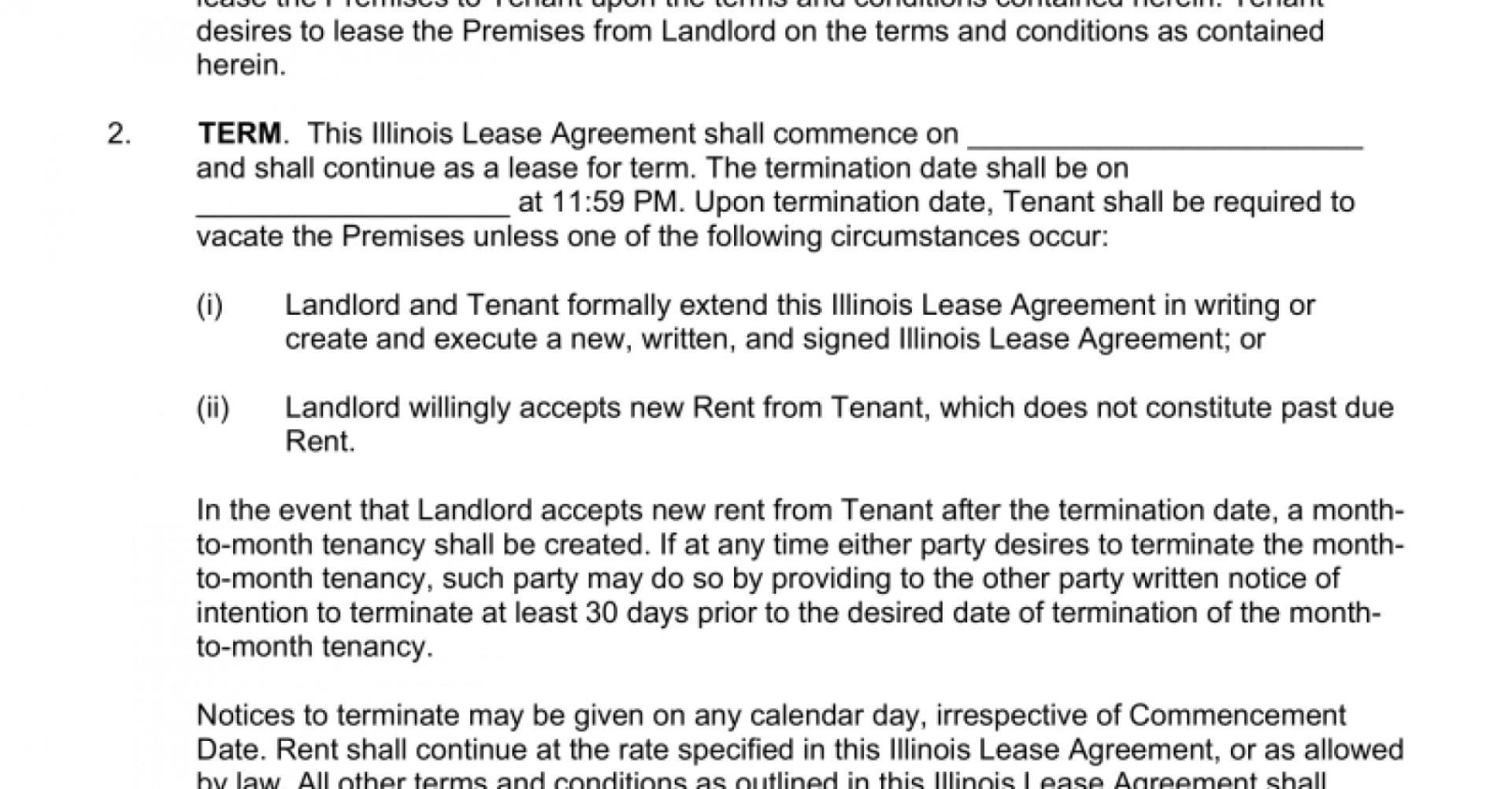 Apartment Lease Template Ri