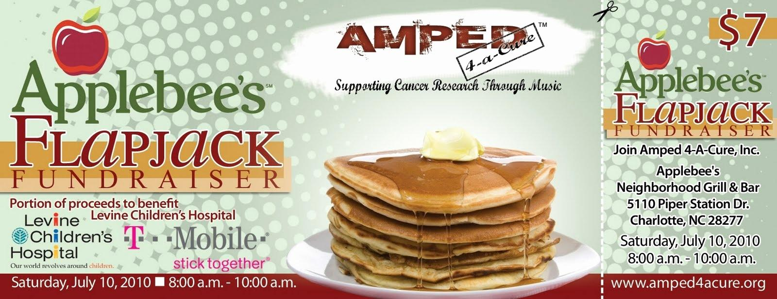 Applebee's Pancake Breakfast Ticket Template