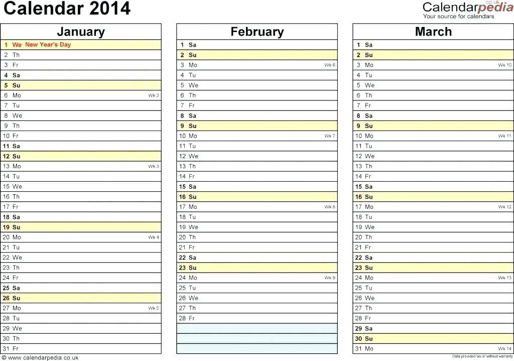 Appointment Planner Template Excel