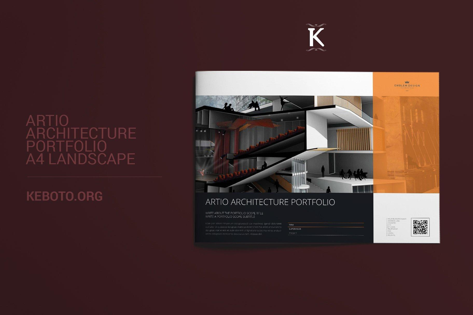 Architectural Portfolio Templates