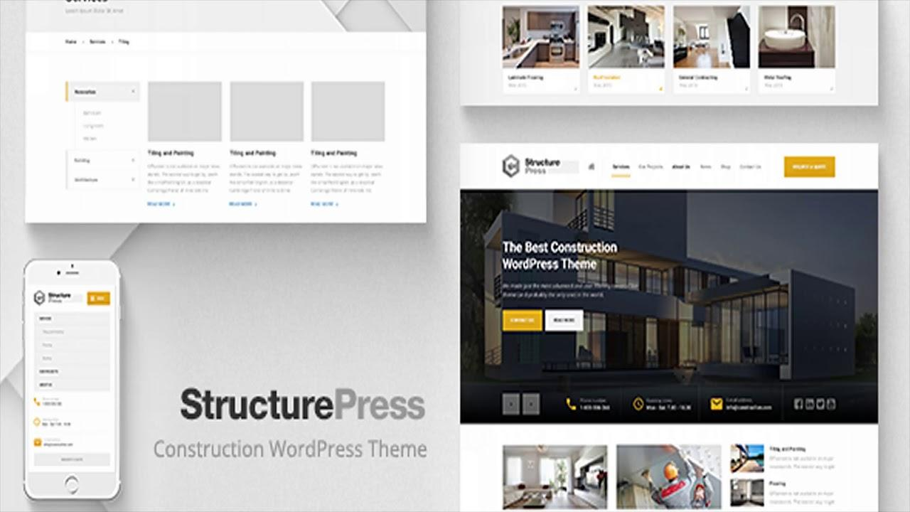 Architecture Website Templates Themeforest