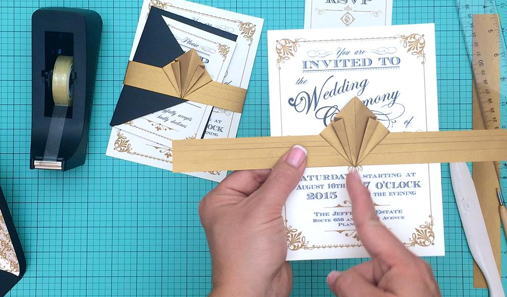 Art Deco Invitation Template Free