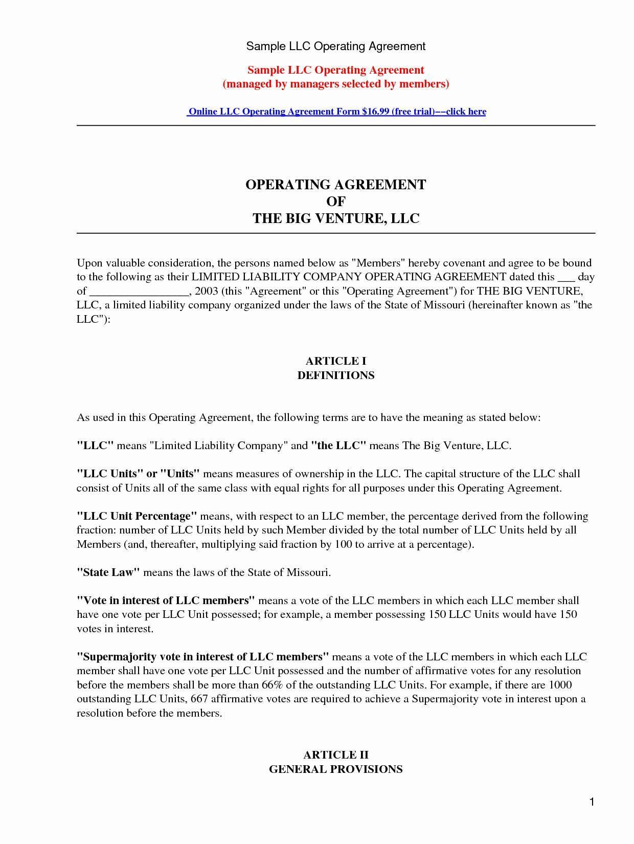 Articles Of Organization Llc Utah Template