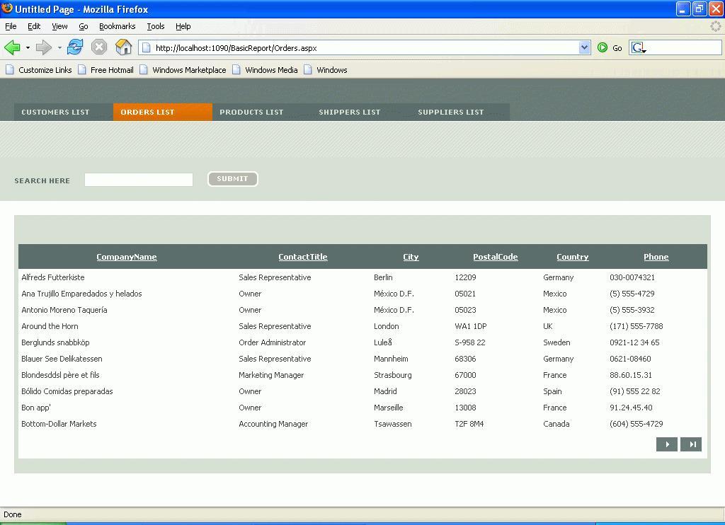 Asp.net Web Design Templates Free Download