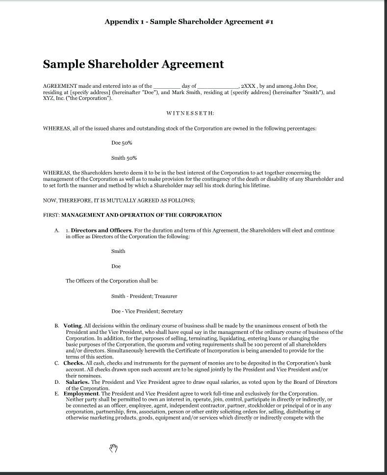 Assignment And Assumption Of Lease Template