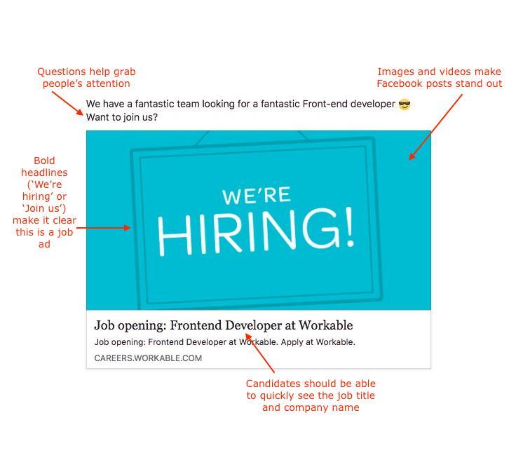 Attractive Job Postings Template
