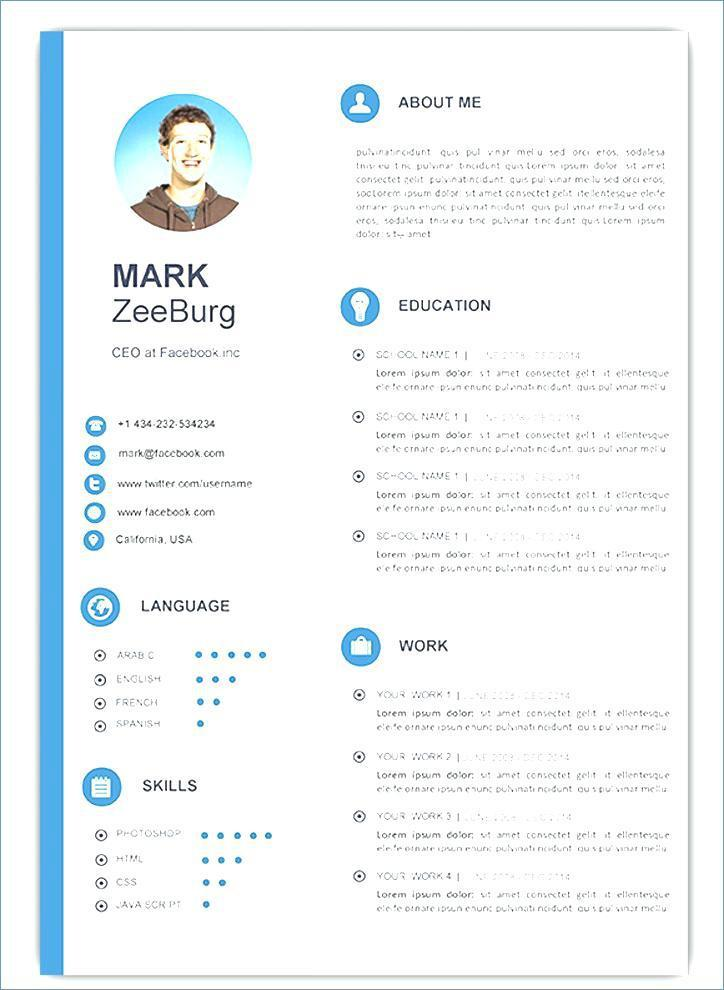 Attractive Resume Templates Free Download Doc
