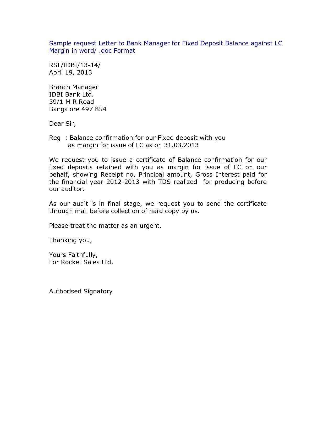 Audit Confirmation Request Template