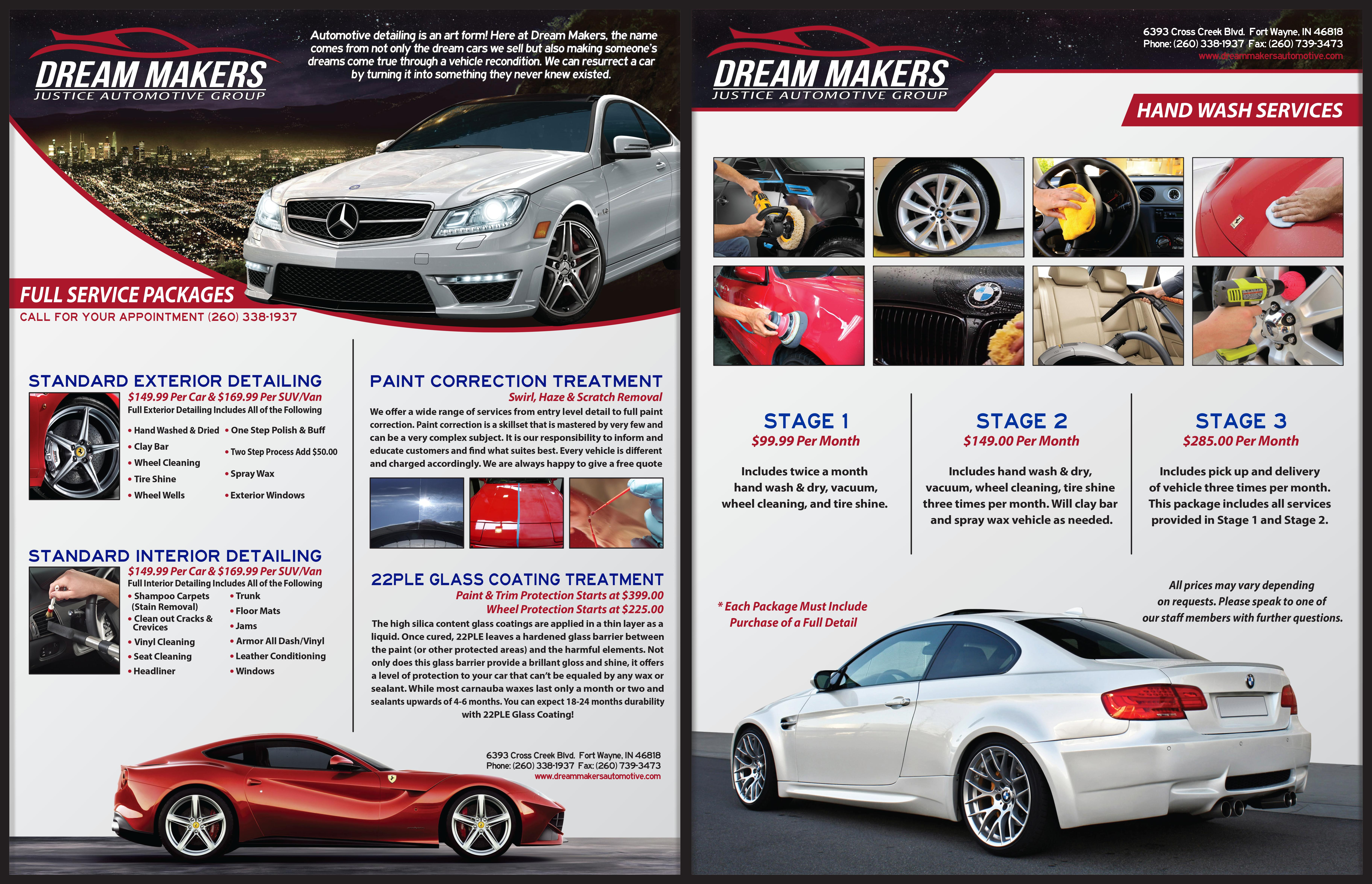 Auto Detailing Flyer Templates Free