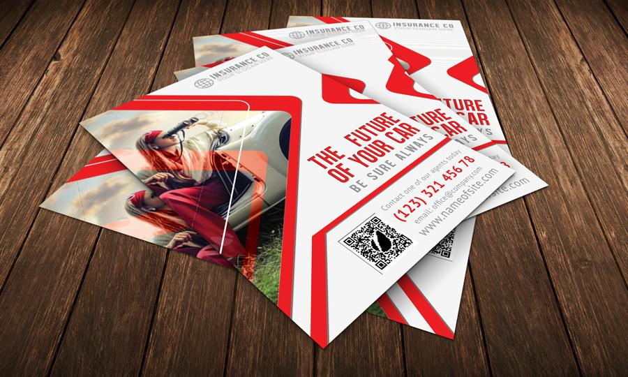 Auto Insurance Brochure Template