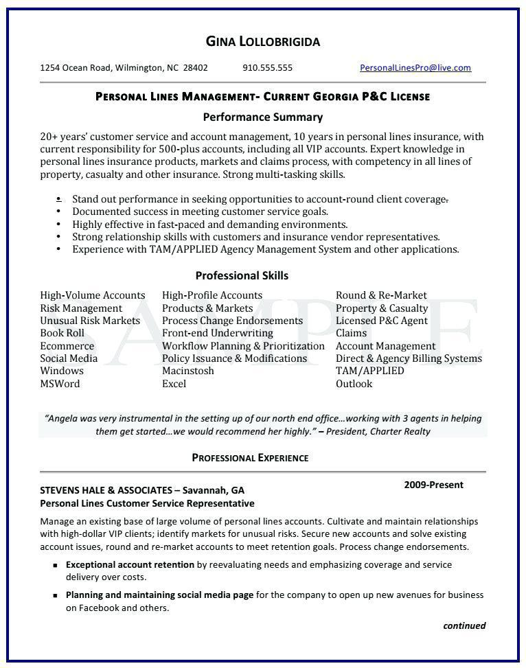Automotive Service Advisor Resume Template
