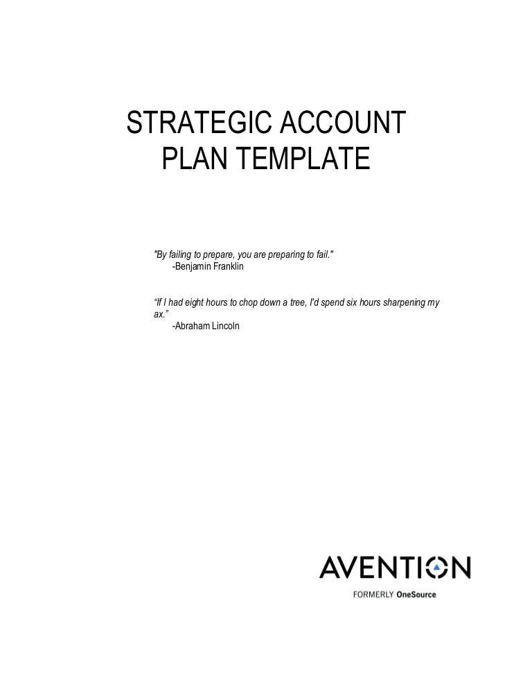 Avention Strategic Account Plan Template.docx