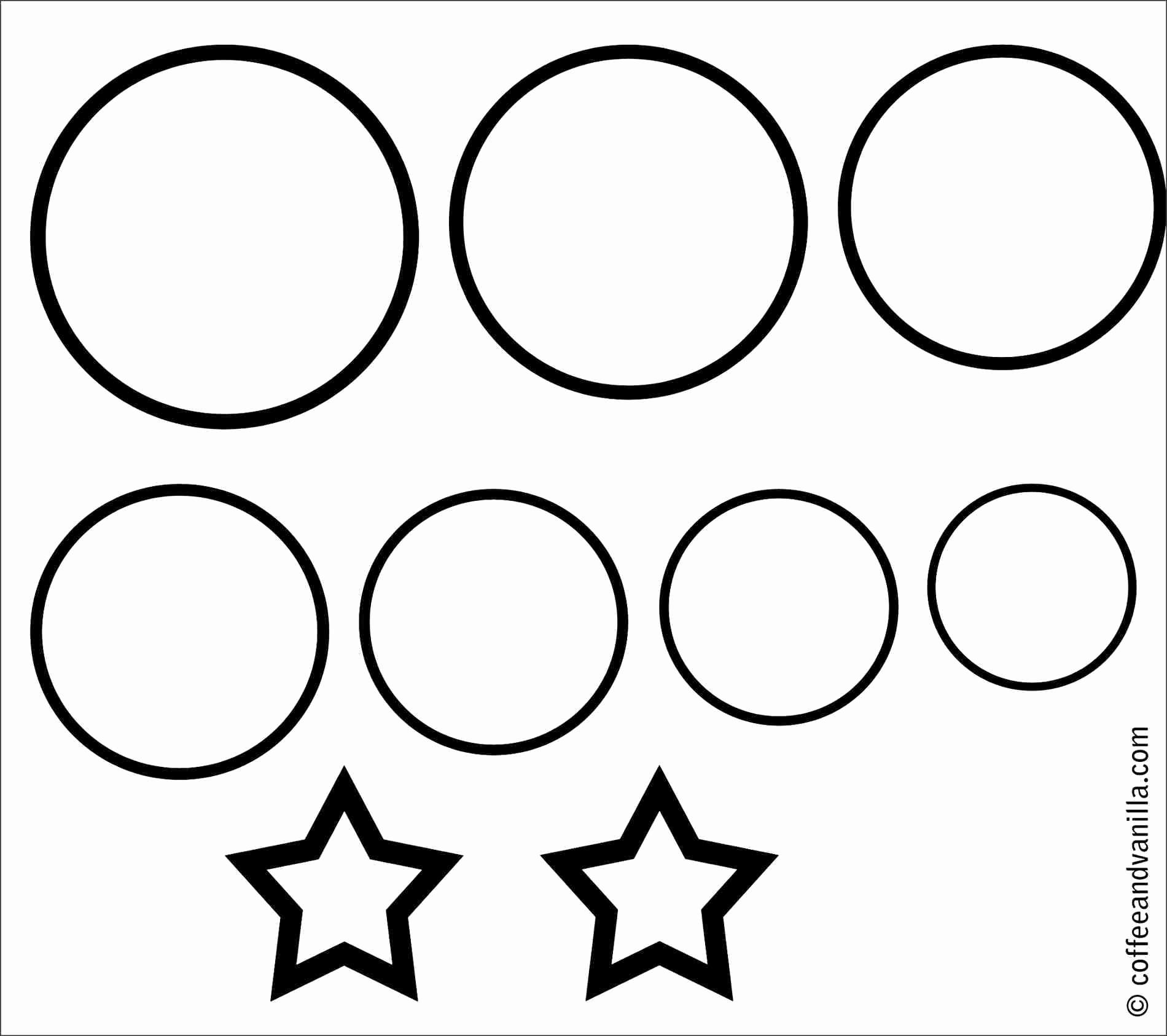 Avery 6450 Round Labels Template