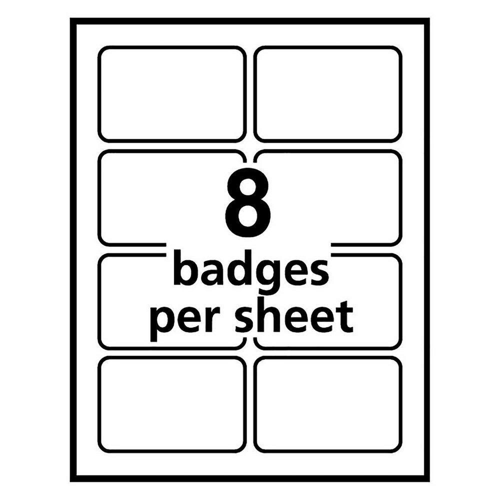 Avery Badge Templates 5390