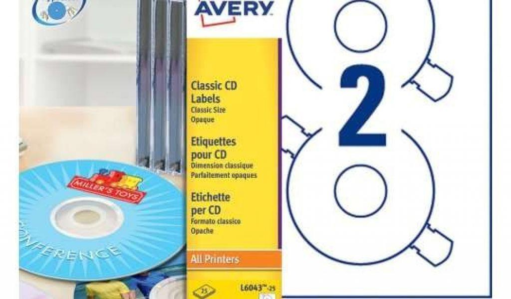 Avery Cd Label Template L6043