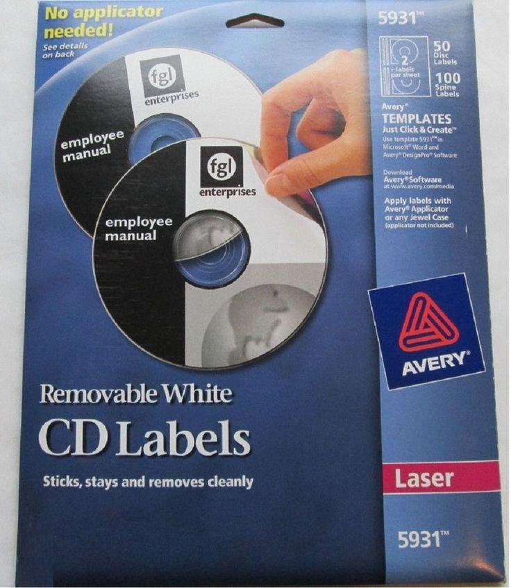 Avery Cd Labels Template 5931 Download Free