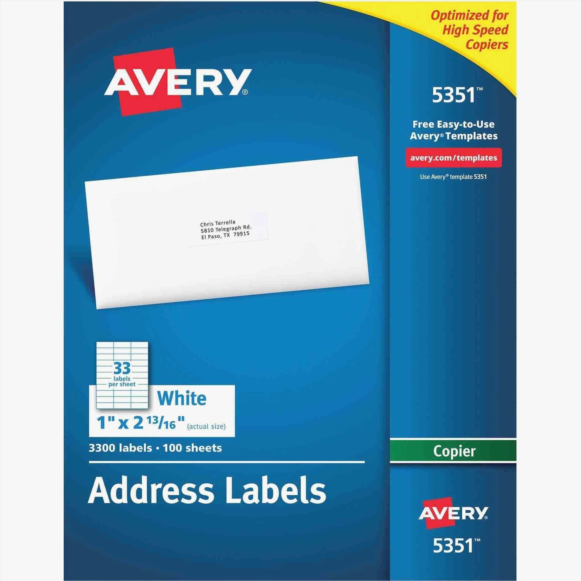Avery File Folder Labels Template 5766