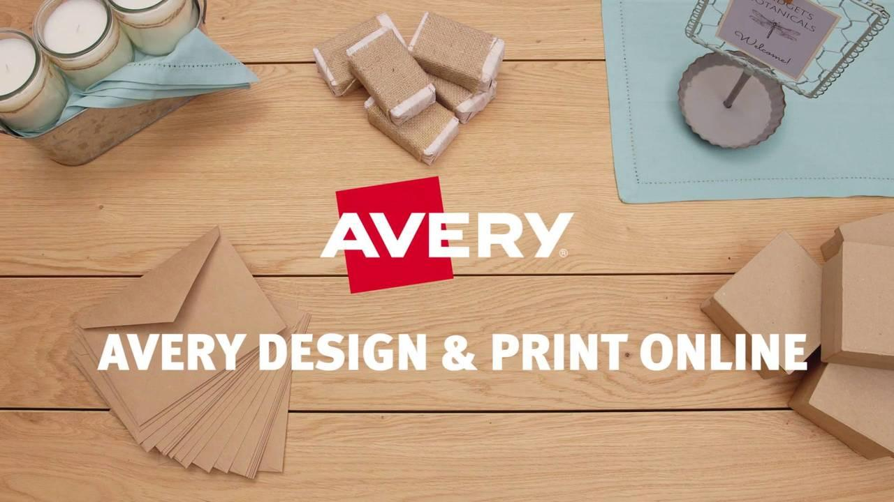 Avery Filing Labels Template #5766