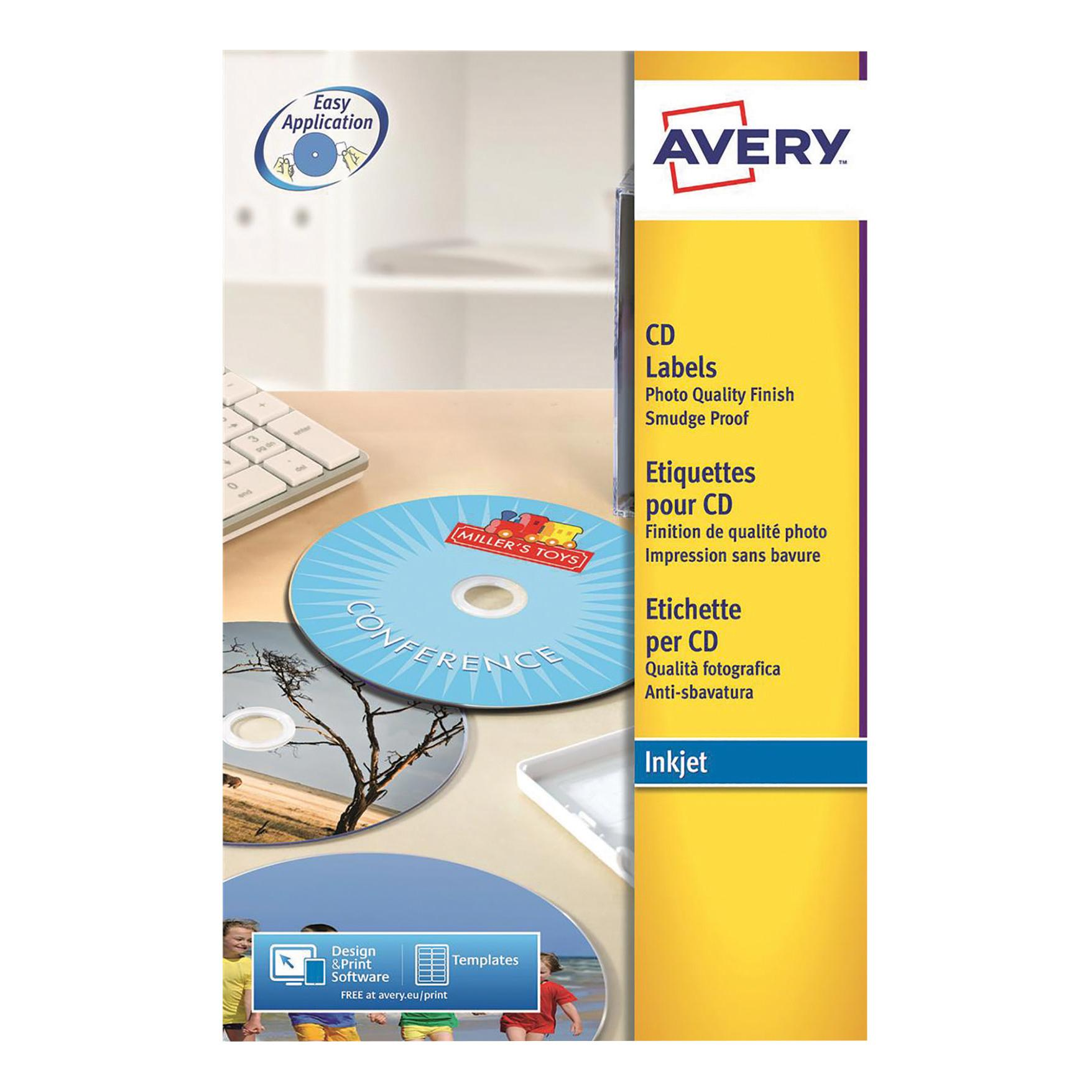 Avery L7760 Cddvd A4 Label Template