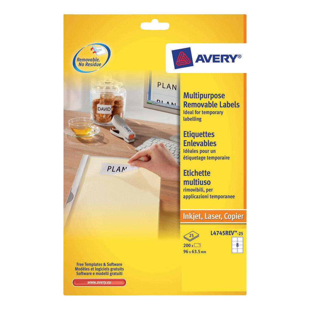 Avery Labels Printing Template 3653