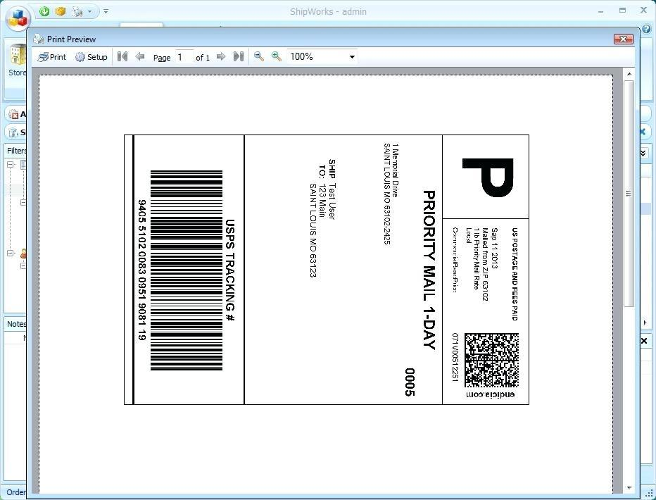 Avery Labels Printing Template L7161
