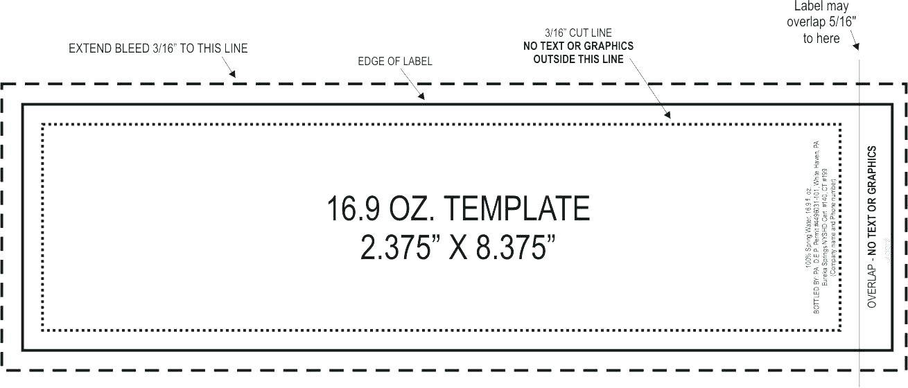 Avery Labels Printing Template L7169