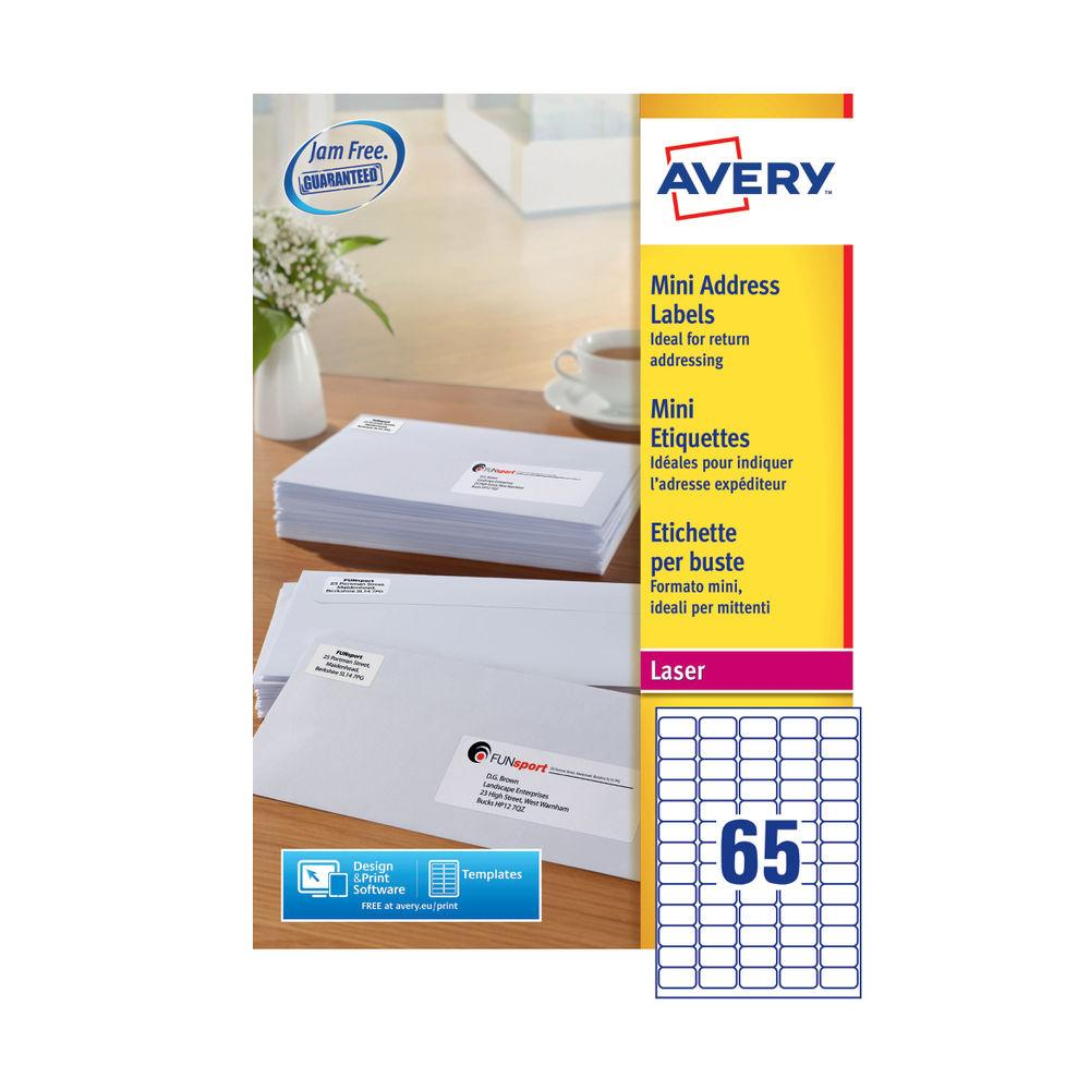 Avery Laser Labels #2163 Template