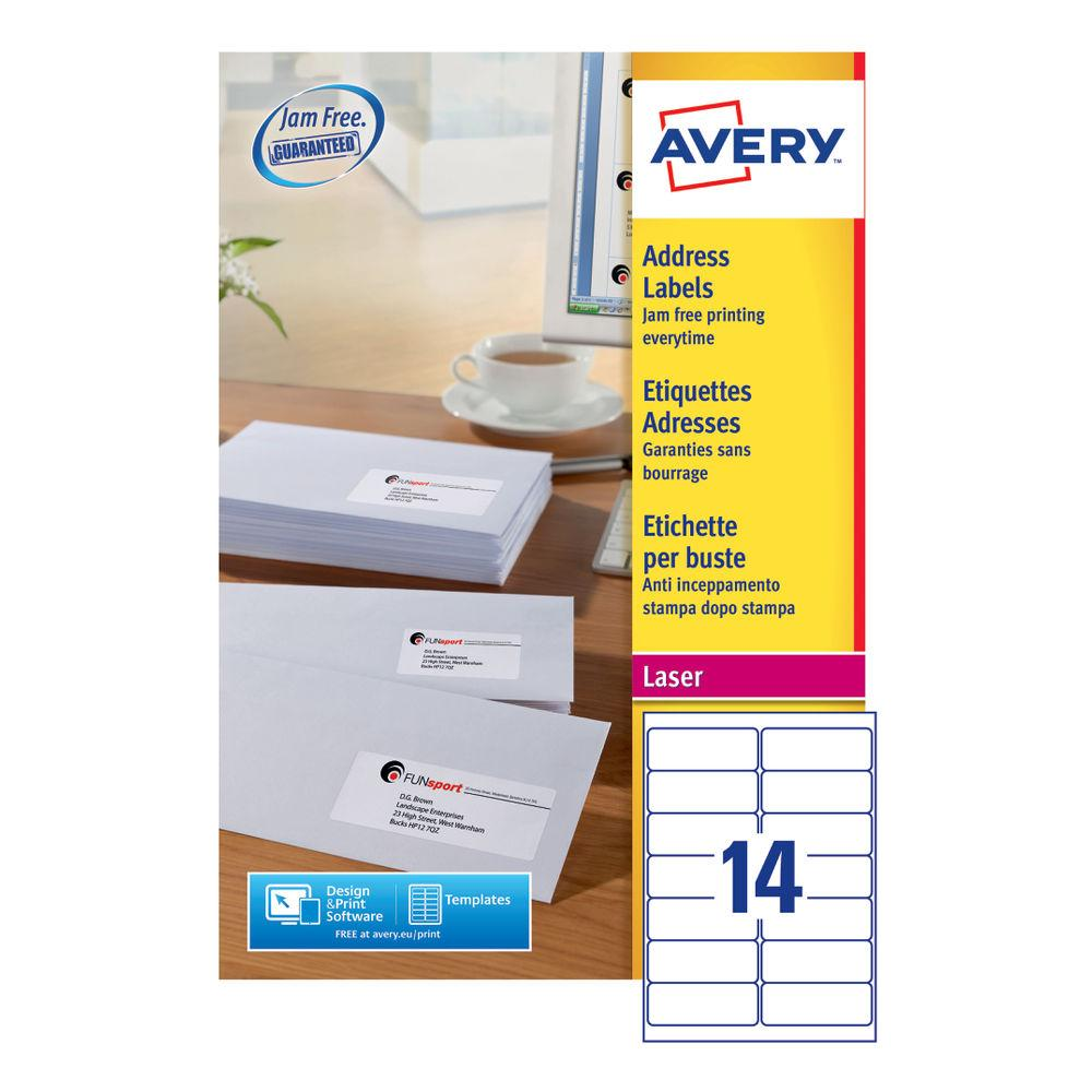 Avery Mailing Labels Template L7163