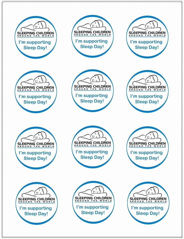 Avery Sticker Template 5293