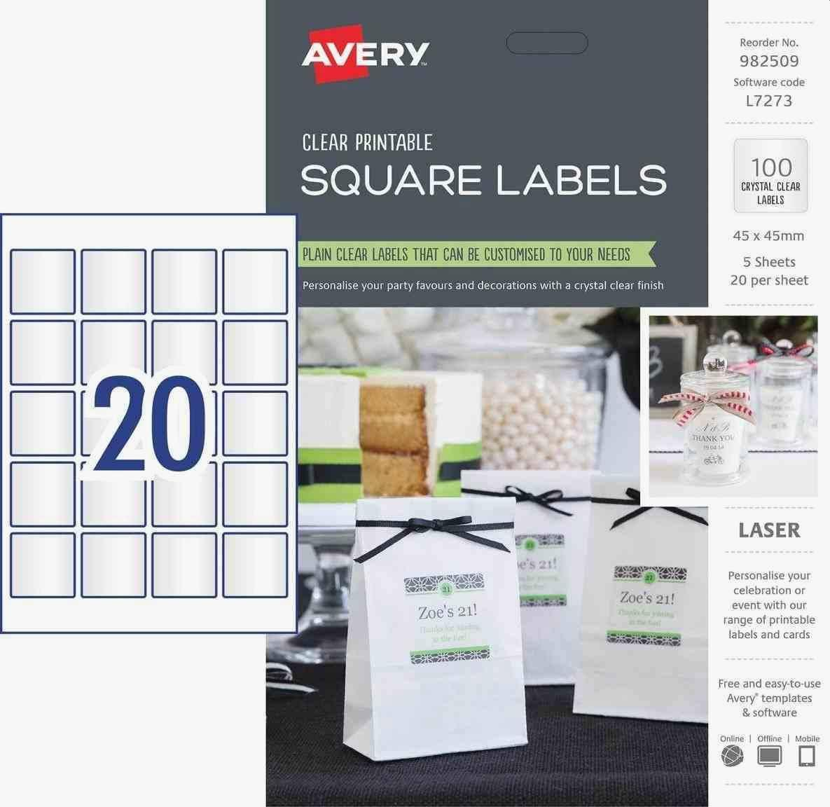 Avery Template Name Badge 3×4
