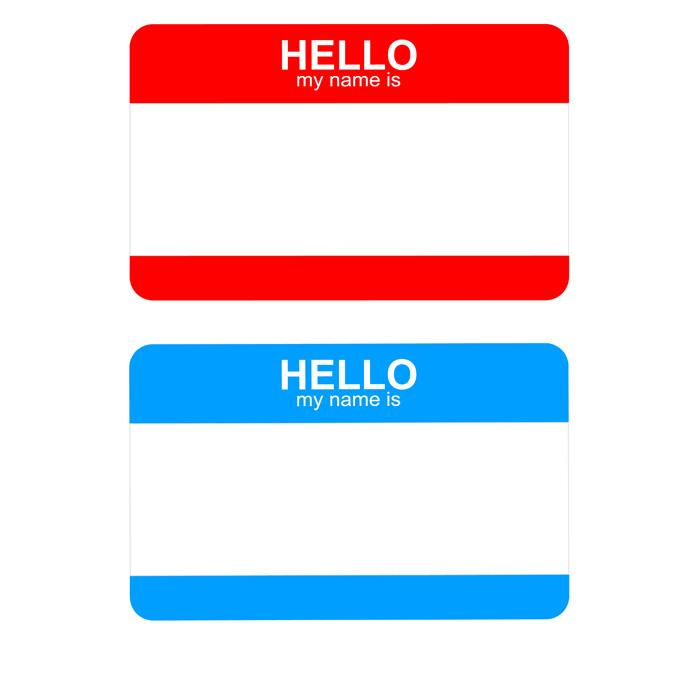 Avery Templates Name Badges 5395