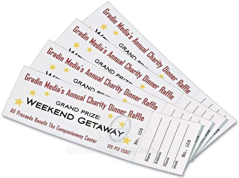 Avery Tickets Template