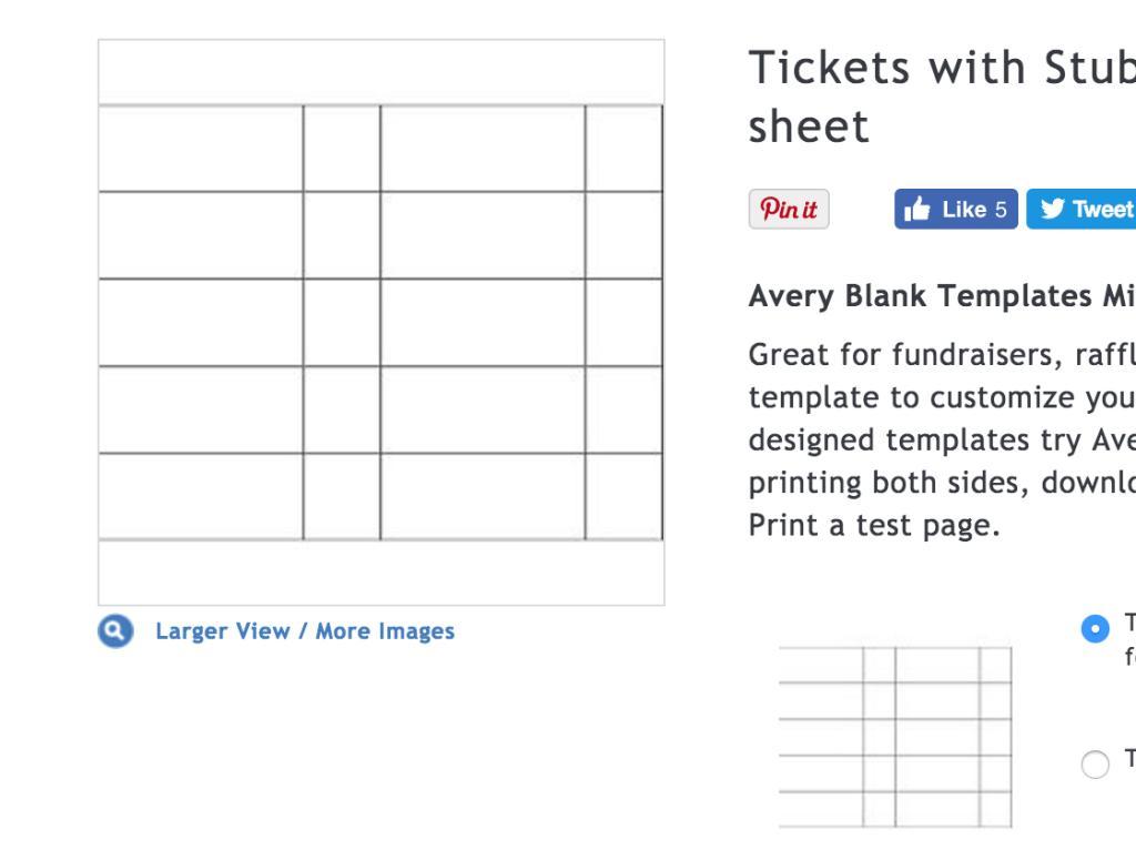 Avery Website Templates