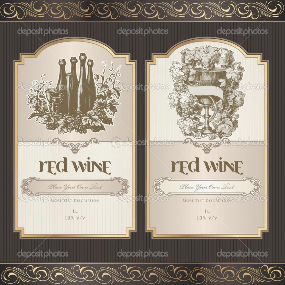 Avery Wine Label Template