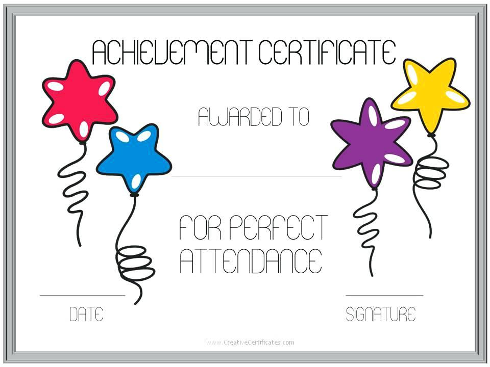 Award Certificate Templates For Elementary Students