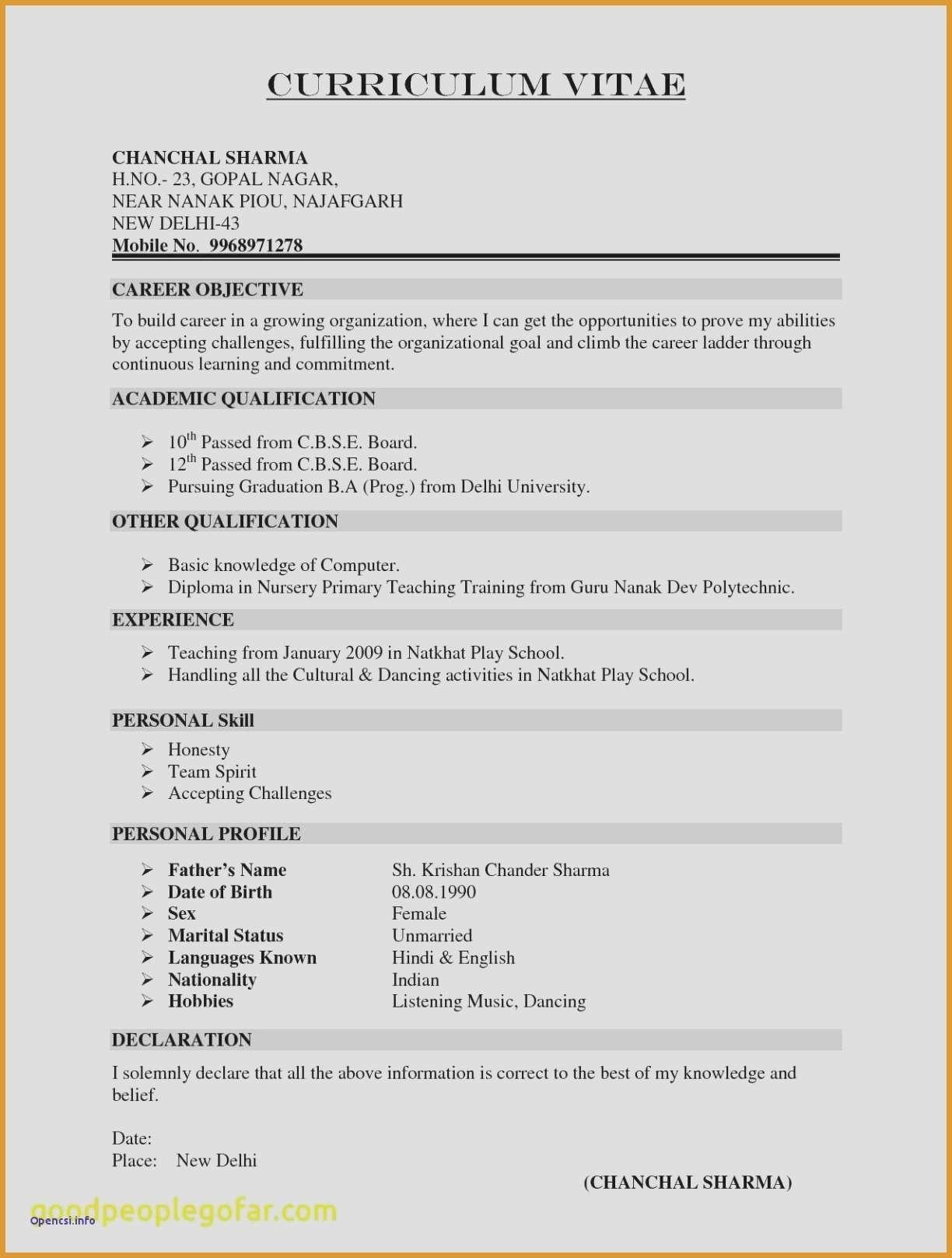 Awesome Resume Templates Word