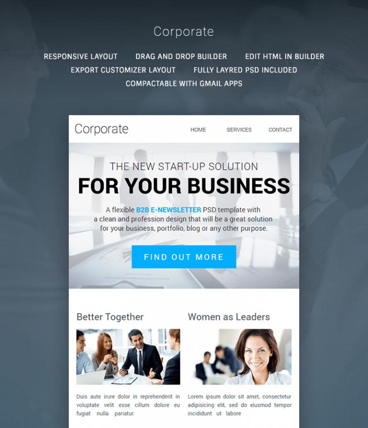 B2b Email Newsletter Templates