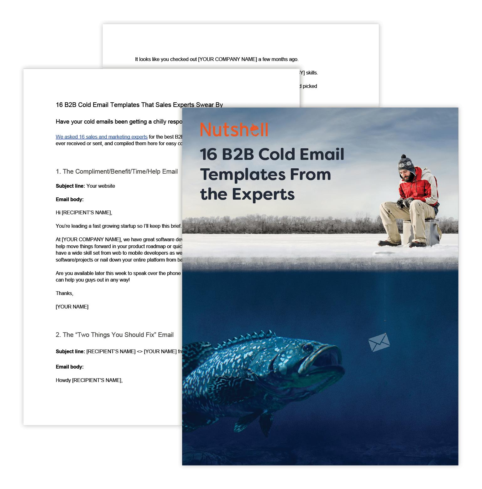 B2b Sales Email Templates