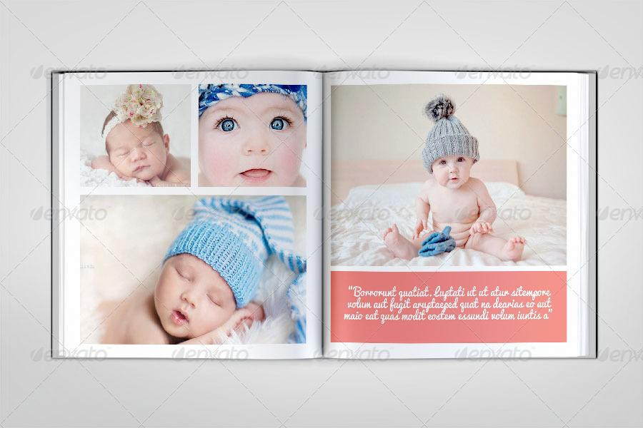 Baby Album Design Templates Free Download