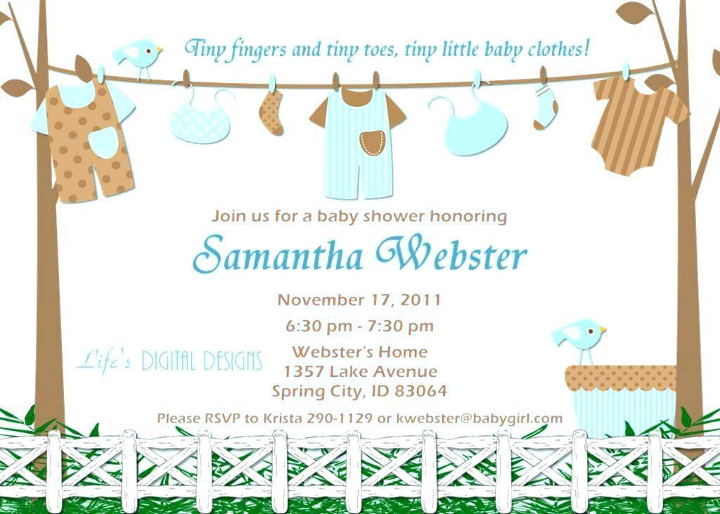 Baby Boy Invitation Templates